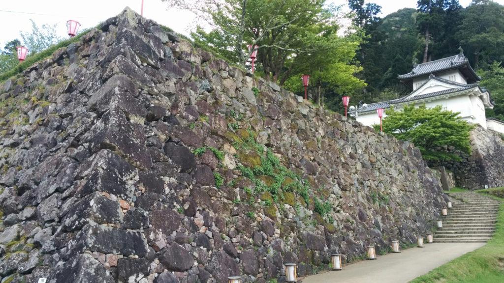石垣・本丸西隅櫓