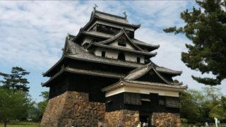 国宝松江城へのアクセスと駐車場での失敗談【日本100名城】