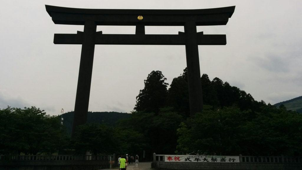 日本一高い大鳥居